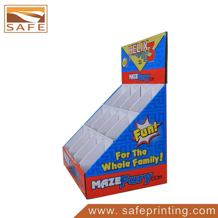 4 Color Offset Printing Grids Children Toys Display Box