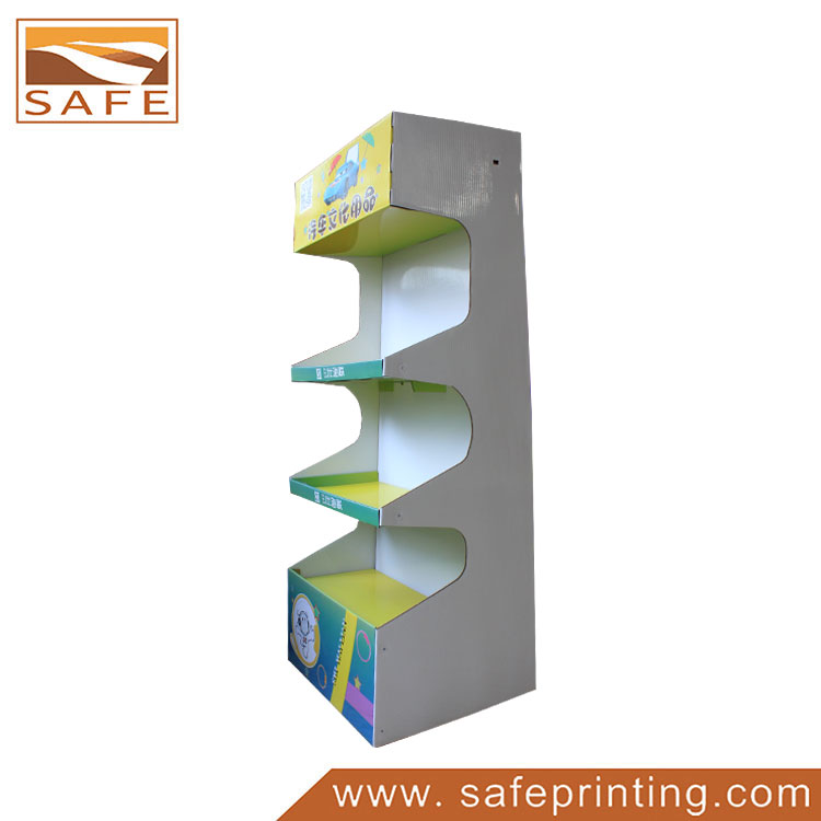 Car Products Paper Material Point of Sale Cardboard Display