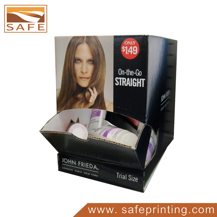 Cardboard Hair Conditioner Product Dispensers Box