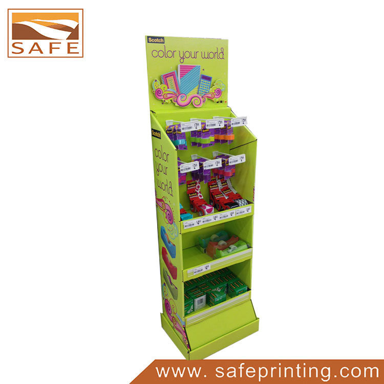 Carton Retail Merchandising Unit for Battery