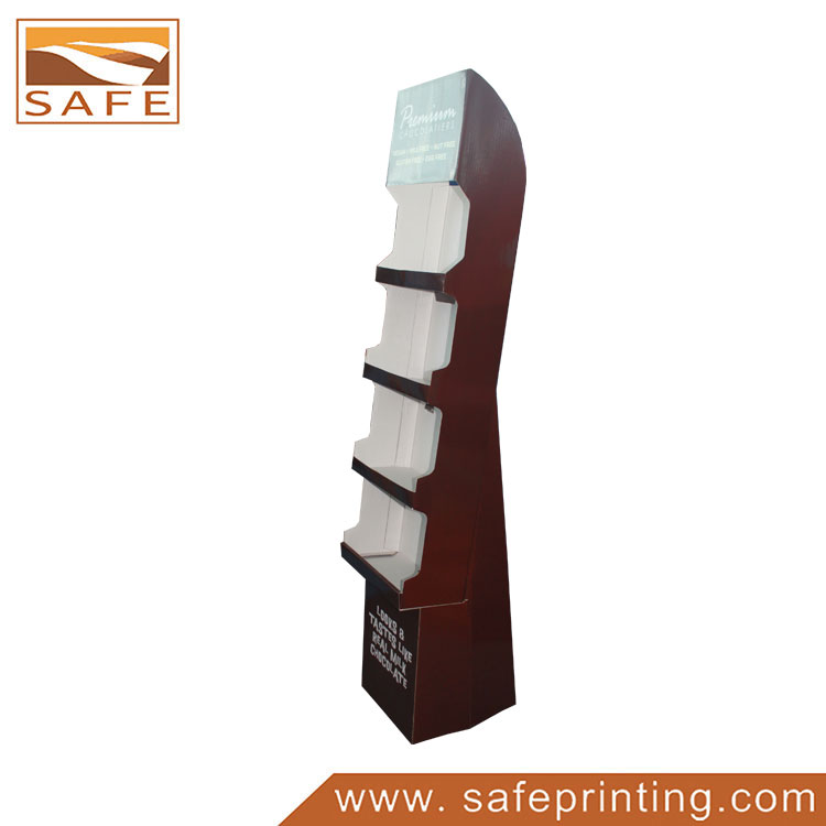 Cheap Cardboard Paper Retail Chocolate Display Unit