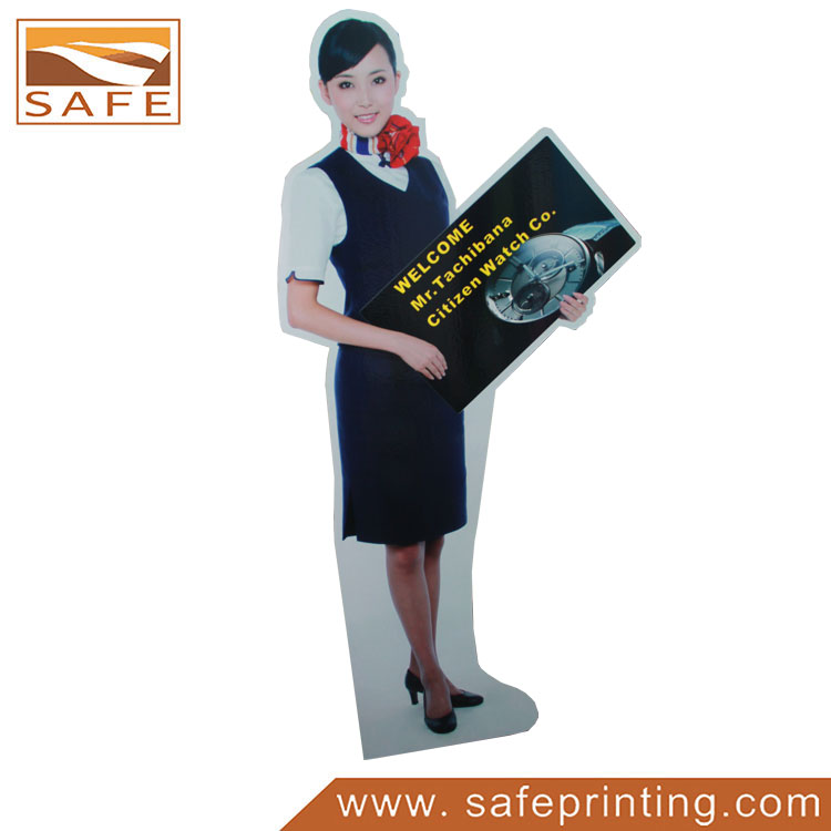Lifesize Cardboard Advertising Cutout Display Standee