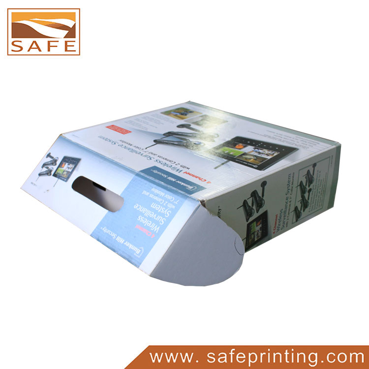 Printing Paper Color Boxes with Handle for Game Player