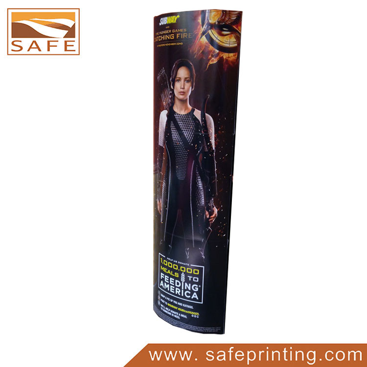 Promotion Paper Movie Totem Display Stand