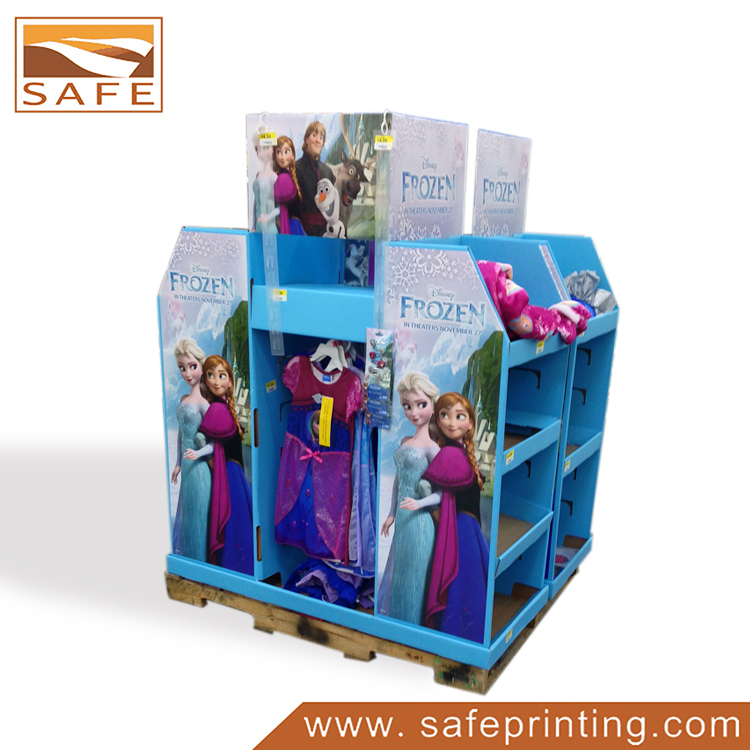 Toys Cardboard Corrugated Full Pallet Display
